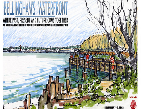 Waterfront Drawing